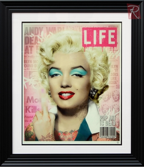 Picture of Warhol's Marilyn