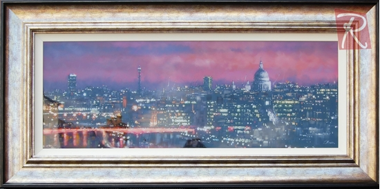 Picture of Dusk Over St Pauls