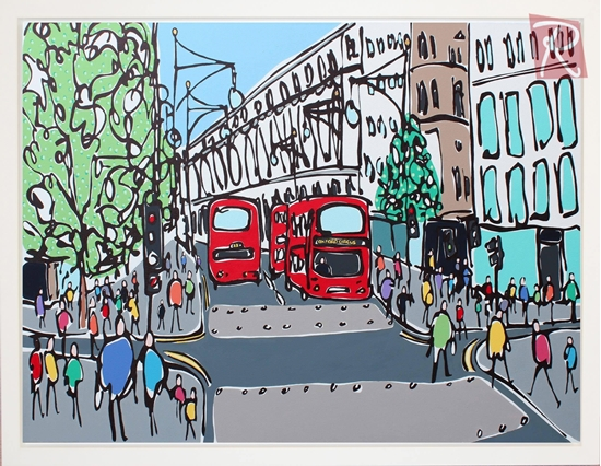 Picture of Oxford Street by Day