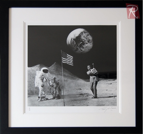 Picture of Terry O'Neill - Sean Connery on the Moon