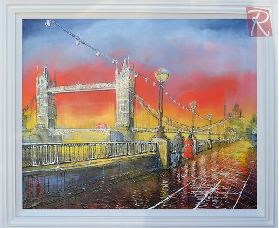 Picture of London Sunset