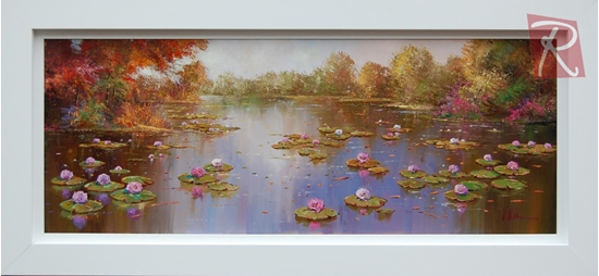 Picture of Autumn By The Pond