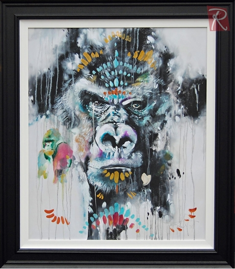 Picture of Silverback - Hand Embellished
