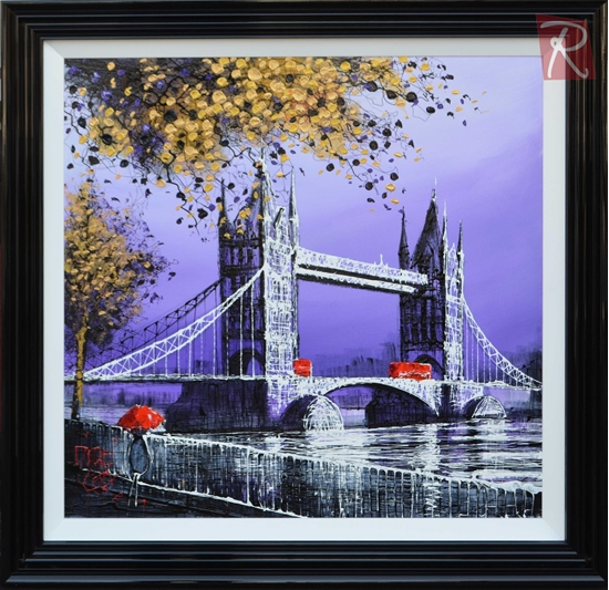 Picture of A Rainy Night on Tower Bridge