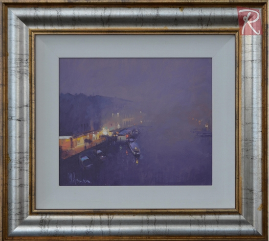 Picture of Evening Fog Rialto