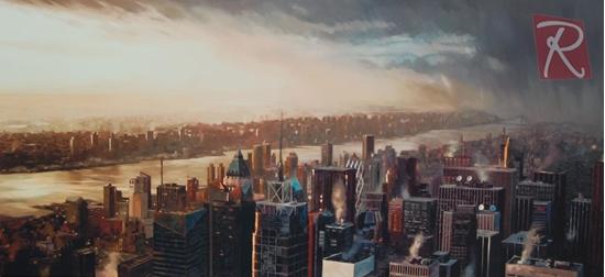 Picture of James Blinkhorn - New York Nightfall