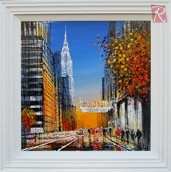 Picture of New york in Autumn