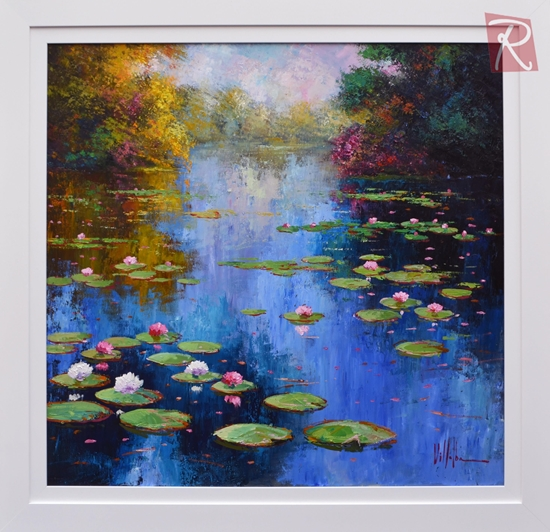 Picture of Sunlit Water Lilies