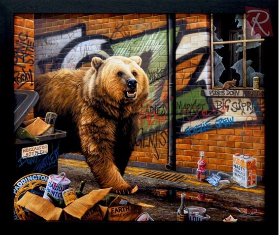Picture of Grizzly (Canvas)
