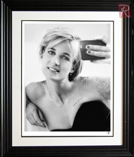 Picture of Princess Diana Selfie