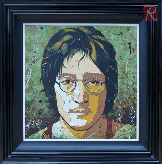 Picture of A J Callan- John Lennon