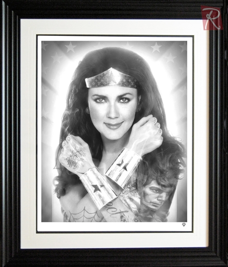 Picture of Wonderwoman - Black and White