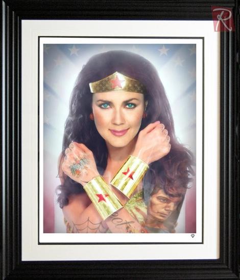 Picture of Wonderwoman - Colour
