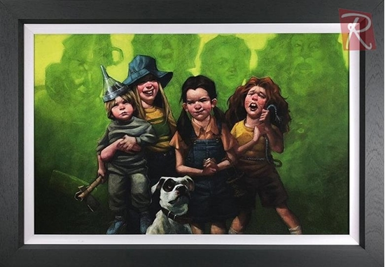 Picture of We're Off To See The Wizard - Canvas