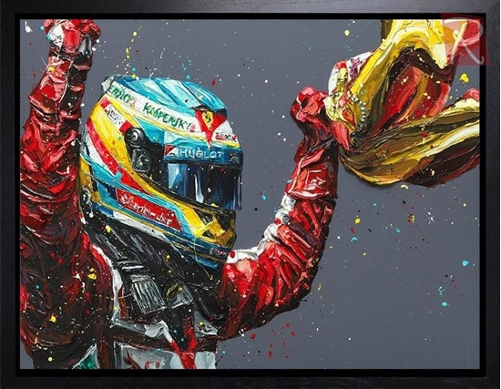 Picture of Alonso Spain 2013