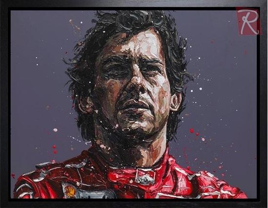 Picture of Senna 24th Anniversary Commemorative