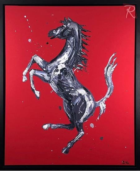 Picture of Rampante Cavallo - Red