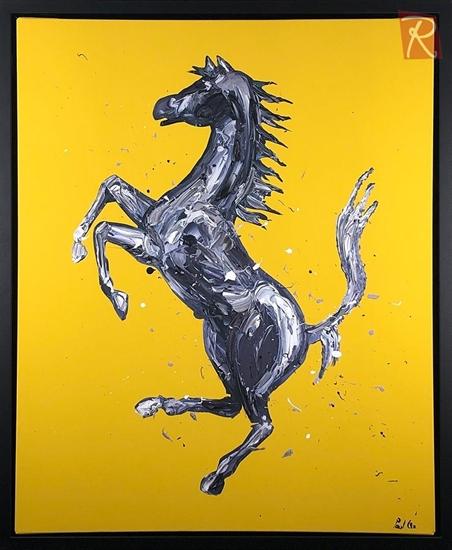 Picture of Rampante Cavallo - Yellow