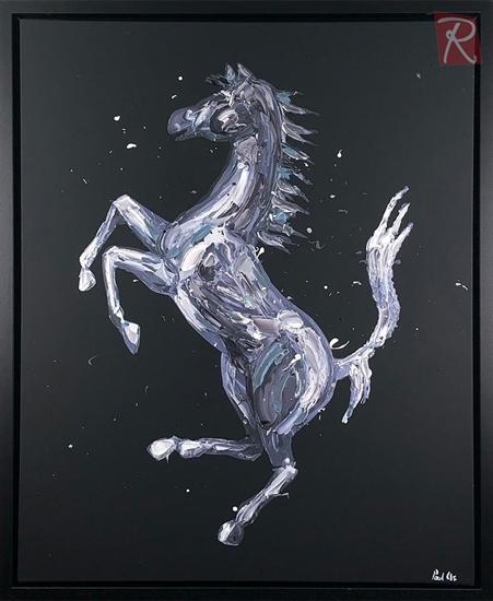 Picture of Rampante Cavallo - Black