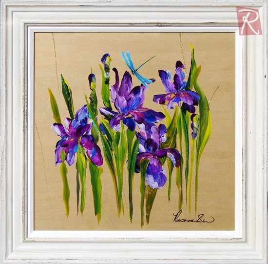 Picture of Dragonfly & Iris