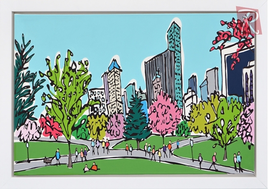 Picture of Spring in Central Park