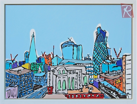 Picture of London Landmarks from the Rooftops