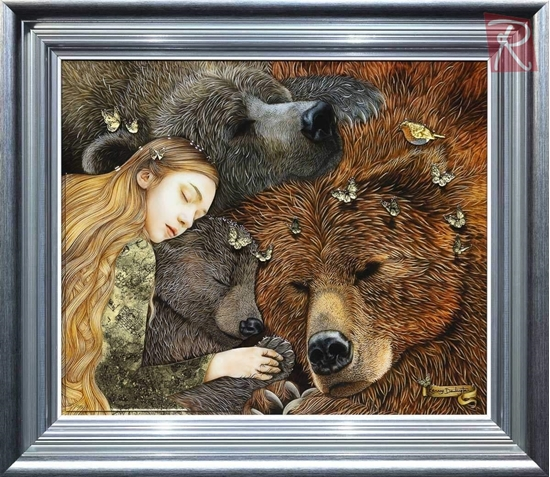 Picture of Goldie Locks and the Three Bears