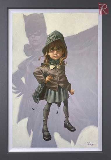 Picture of Gotham Girl - Canvas