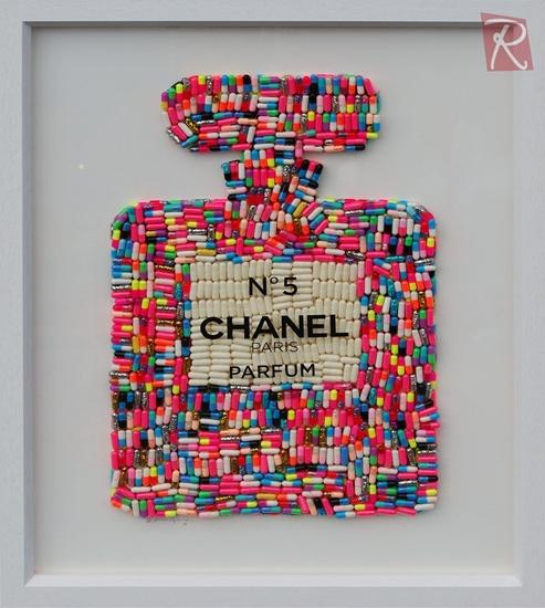 Picture of Addiction No.5 - Multicoloured