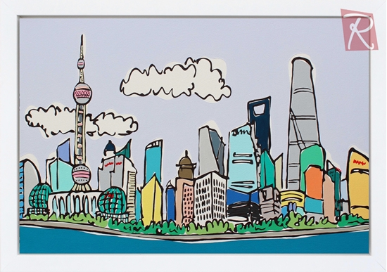 Picture of Shanghai Dusk